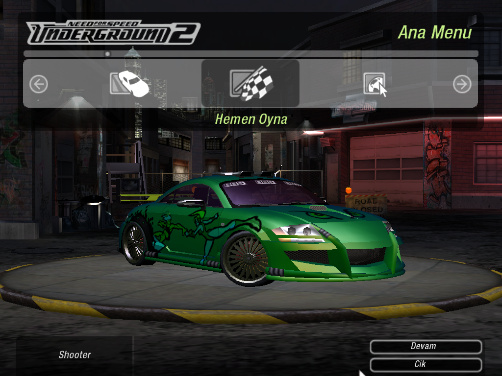 how to play need for speed underground