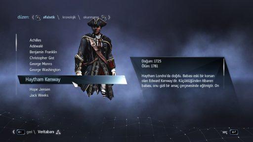 Assassin\'s Creed Rogue Türkçe Yama 6. Ekran Görüntüsü