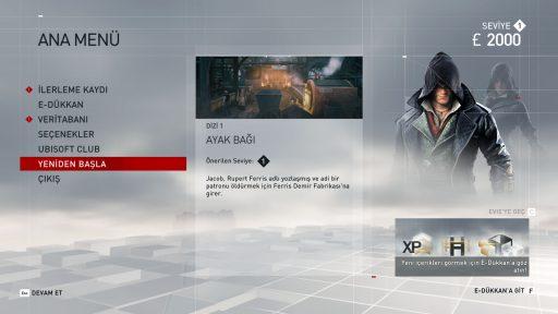 Assassin\'s Creed: Syndicate Türkçe Yama 2. Ekran Görüntüsü