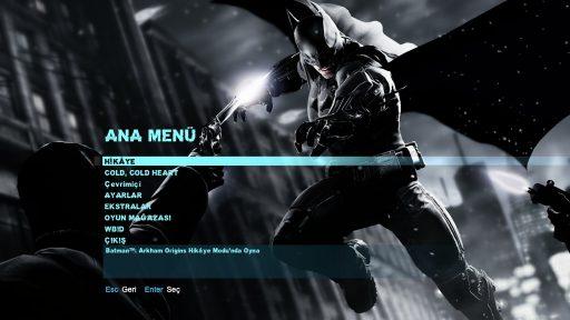 Batman: Arkham Origins Türkçe Yama 1. Ekran Görüntüsü