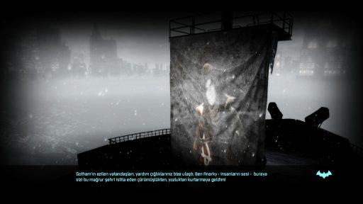 Batman: Arkham Origins Türkçe Yama 2. Ekran Görüntüsü