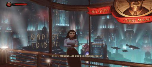 BioShock Infinite: Burial at Sea 1-2 Türkçe Yama 4. Ekran Görüntüsü