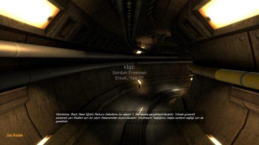 Black Mesa Türkçe Yama 2. Ekran Görüntüsü