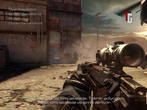 Call of Duty: Ghosts Türkçe Yama 4. Ekran Görüntüsü