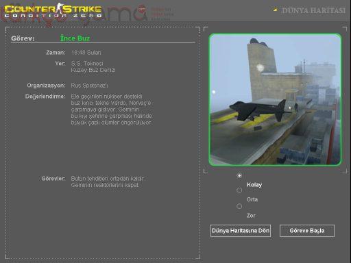 Counter-Strike: Condition Zero Deleted Scenes Türkçe Yama 2. Ekran Görüntüsü
