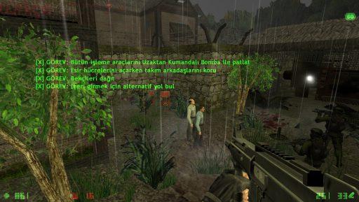 Counter-Strike: Condition Zero Deleted Scenes Türkçe Yama 3. Ekran Görüntüsü