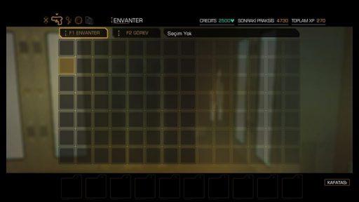 Deus Ex: Human Revolution - Director\'s Cut Türkçe Yama 1. Ekran Görüntüsü