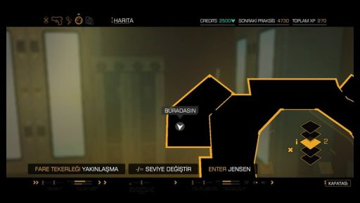Deus Ex: Human Revolution - Director\'s Cut Türkçe Yama 2. Ekran Görüntüsü