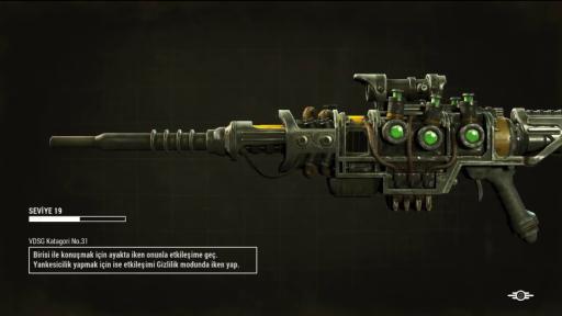 Fallout 4 Türkçe Yama 2. Ekran Görüntüsü