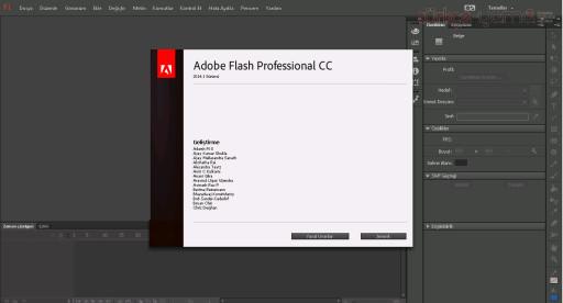Flash CC Türkçe