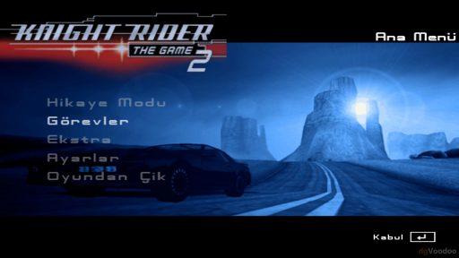 Knight Rider 2: The Game Türkçe Yama 1. Ekran Görüntüsü
