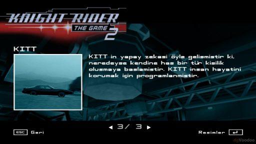 Knight Rider 2: The Game Türkçe Yama 2. Ekran Görüntüsü
