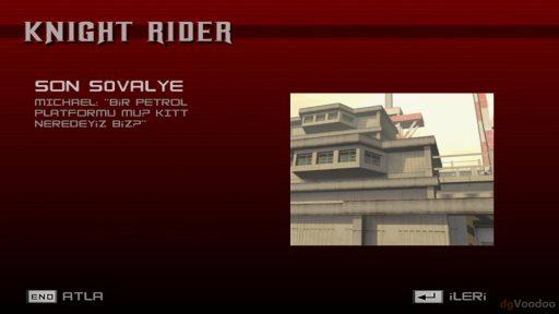 Knight Rider: The Game Türkçe Yama 7. Ekran Görüntüsü