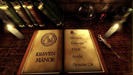 Kraven Manor Türkçe Yama 1. Ekran Görüntüsü