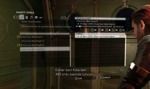 METAL GEAR SOLID V: GROUND ZEROES Türkçe Yama 3. Ekran Görüntüsü