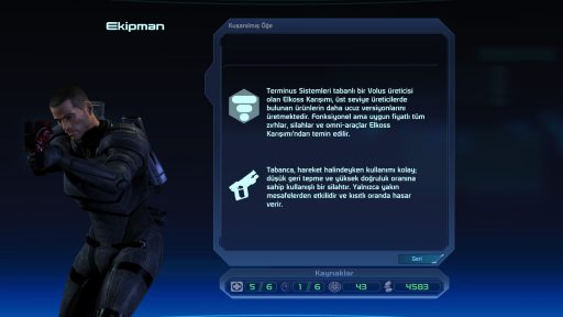 Mass Effect Türkçe Yama 5. Ekran Görüntüsü