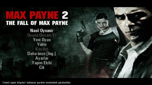 Max Payne 2: The Fall of Max Payne Türkçe Yama Türkçe Yama 1. Ekran Görüntüsü