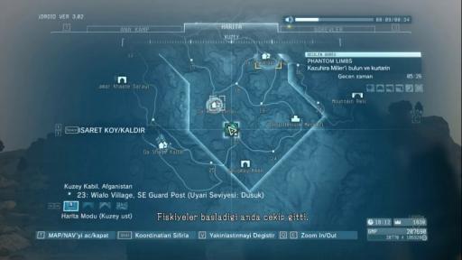 Metal Gear Solid V: The Phantom Pain Türkçe Yama 2. Ekran Görüntüsü