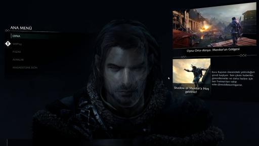 Middle-earth: Shadow of Mordor Türkçe Yama 2. Ekran Görüntüsü
