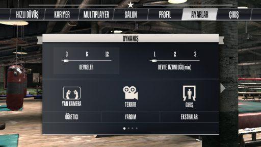 Real Boxing Türkçe Yama 1. Ekran Görüntüsü