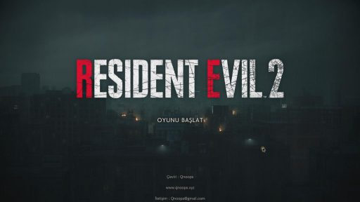 Resident Evil 2 Remake Biohazard Türkçe Yama 1. Ekran Görüntüsü