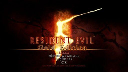 Resident Evil 5 Gold Edition Türkçe Yama 1. Ekran Görüntüsü