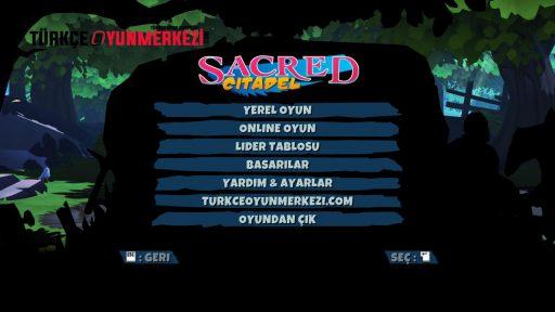Sacred Citadel Türkçe Yama 1. Ekran Görüntüsü