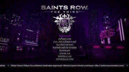 Saints Row: The Third Türkçe Yama 2. Ekran Görüntüsü
