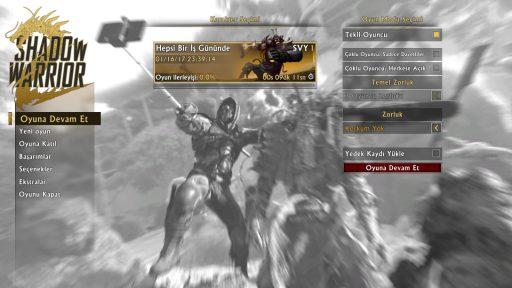 Shadow Warrior 2 Türkçe Yama 2. Ekran Görüntüsü