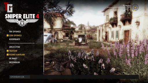 Sniper Elite 4 Türkçe Yama 1. Ekran Görüntüsü