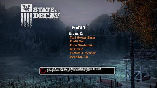 State of Decay: YOSE Türkçe Yama 1. Ekran Görüntüsü
