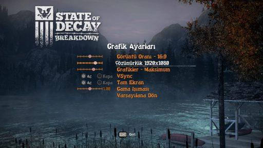State of Decay: YOSE Türkçe Yama 2. Ekran Görüntüsü