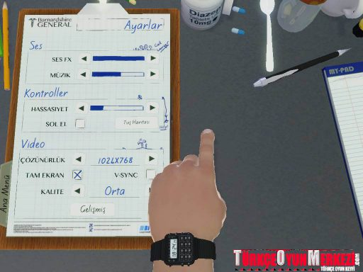 Surgeon Simulator: AE Türkçe Yama 3. Ekran Görüntüsü