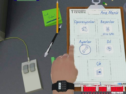 Surgeon Simulator: AE Türkçe Yama 4. Ekran Görüntüsü