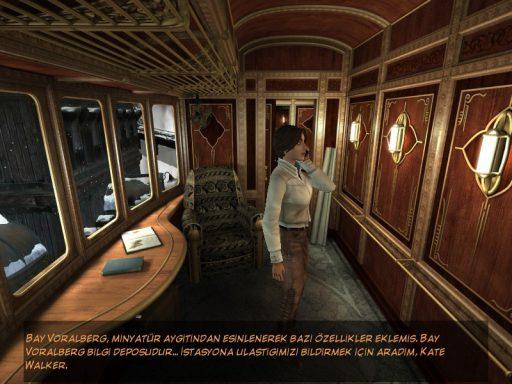 Syberia 2 Türkçe Yama 1. Ekran Görüntüsü