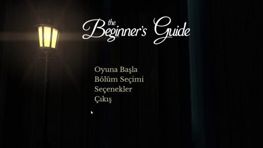 The Beginner\'s Guide Türkçe Yama 1. Ekran Görüntüsü