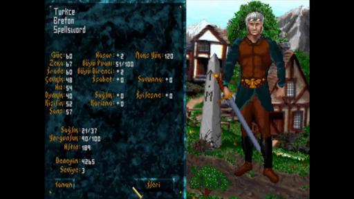 The Elder Scrolls: Arena Türkçe Yama 3. Ekran Görüntüsü