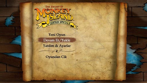 The Secret of Monkey Island: Special Edition Türkçe Yama 1. Ekran Görüntüsü
