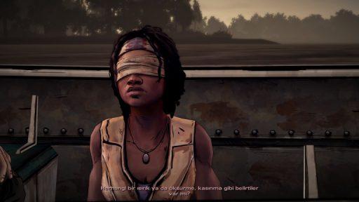 The Walking Dead: Michonne Episode 1 Türkçe Yama 1. Ekran Görüntüsü