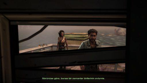 The Walking Dead: Michonne Episode 1 Türkçe Yama 5. Ekran Görüntüsü