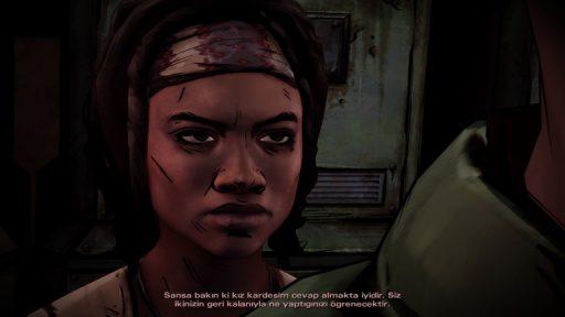 The Walking Dead: Michonne Episode 1 Türkçe Yama 7. Ekran Görüntüsü