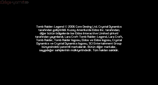 Tomb-Raider-Legend-Turkce-Yama