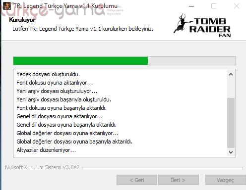 Tomb Raider Legend Turkce Yama Kurulum