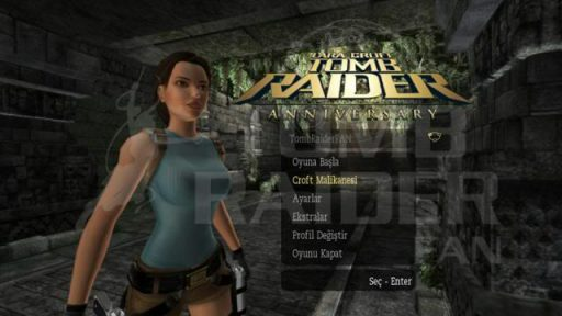 Tomb Raider: Anniversary Türkçe Yama 1. Ekran Görüntüsü