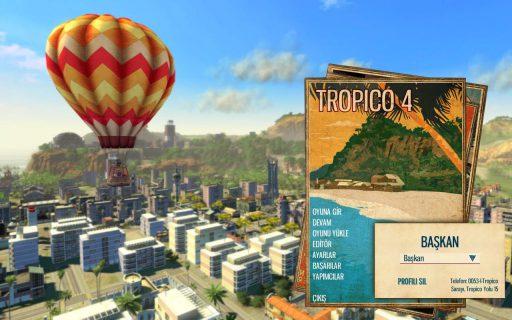 Tropico 4 Türkçe Yama 1. Ekran Görüntüsü
