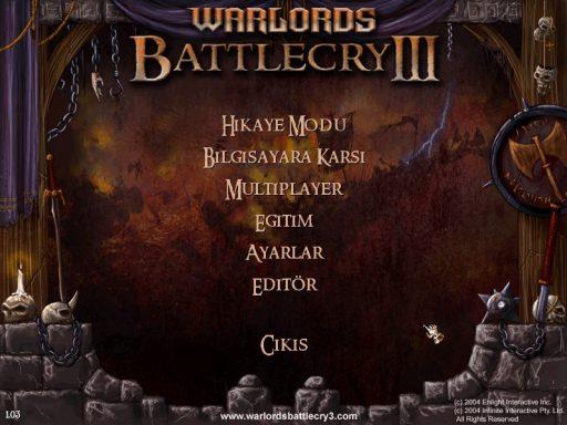 Warlords Battlecry 3 Türkçe Yama 1. Ekran Görüntüsü