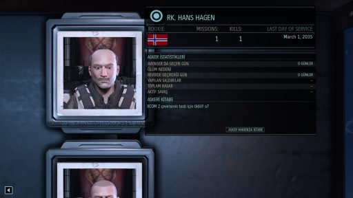 XCOM 2 Türkçe Yama 1. Ekran Görüntüsü